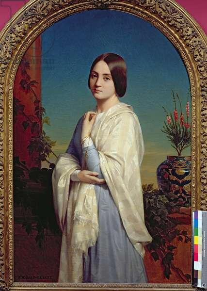Madame Edouard Dubufe (1822-55) 1842 (oil on canvas)