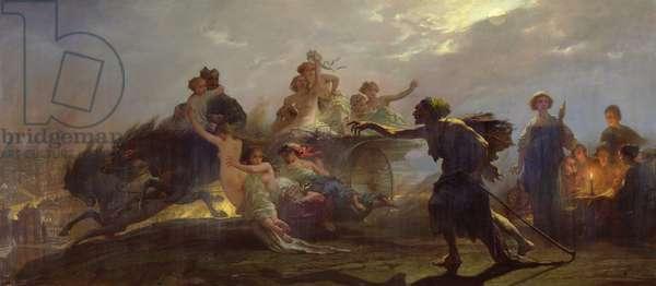 The Purveyor of Misery, 1860 (oil on canvas)