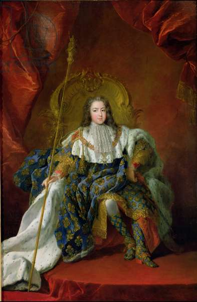 Louis XV (1710-74) 1723 (oil on canvas)
