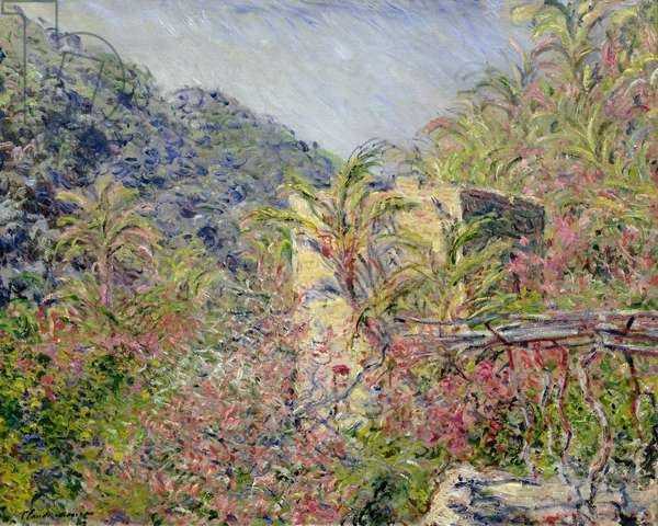 Sasso Valley. Sun Effect, 1884 (oil on canvas)