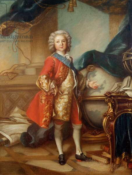 Dauphin Charles-Louis (1729-65) of France (oil on canvas)
