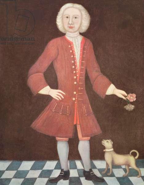 Portrait of Jonathan Bentham, c.1725 (oil on canvas)