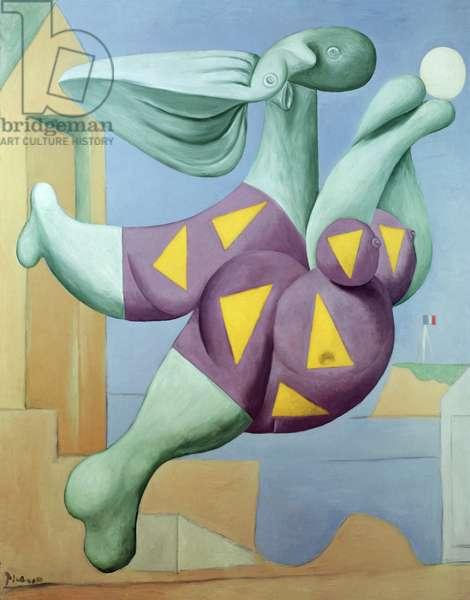 Bather with a Beach Ball, 1932 (oil on canvas)