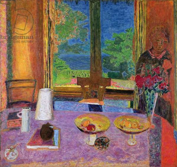 Dining Room on the Garden, 1934-35 (oil on canvas)