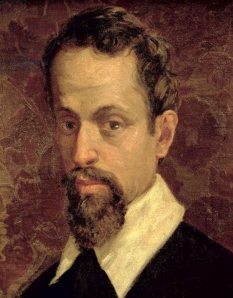 Claudio Monteverdi (1567-1643) (oil on canvas)