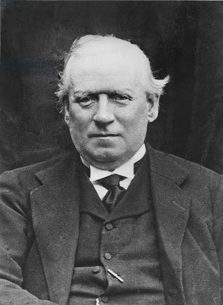 Portrait of Herbert Henry Asquith (b/w photo)
