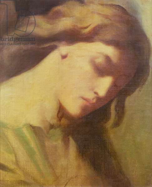 An Angel, study for the Mount of Olives, 1840 (oil on canvas)