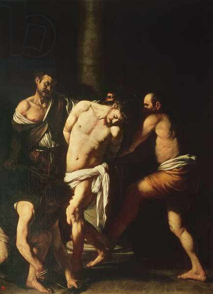 Flagellation, 1607 (oil on canvas)