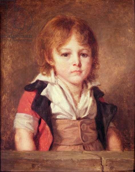 Portrait of Edouard Bertin (oil on canvas)