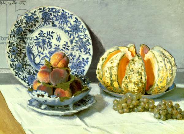 Still Life, 1872 (oil on canvas)