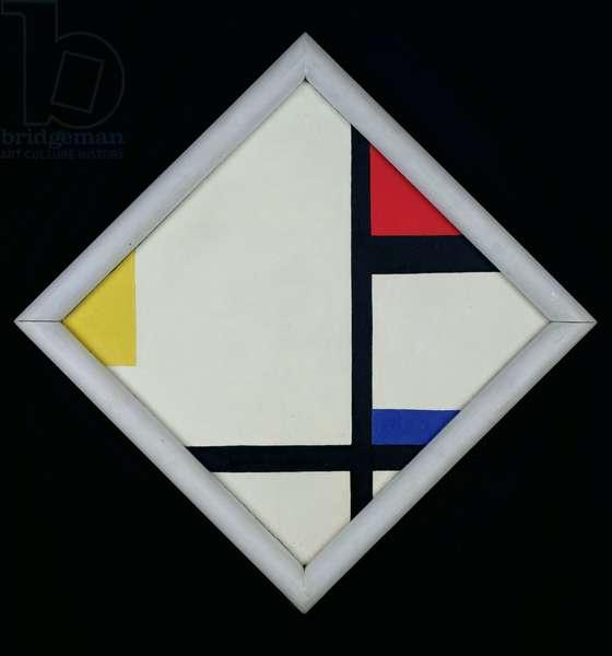 Composition No.5 Losanique, 1926 (oil on fibro-cement)