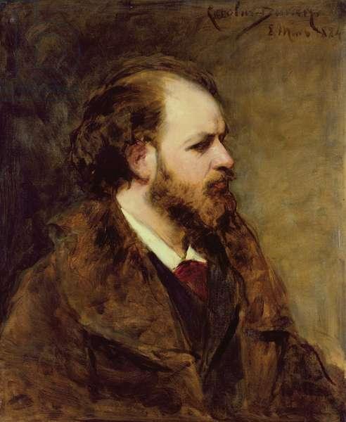 Zacharie Astruc, 1884 (oil on canvas)