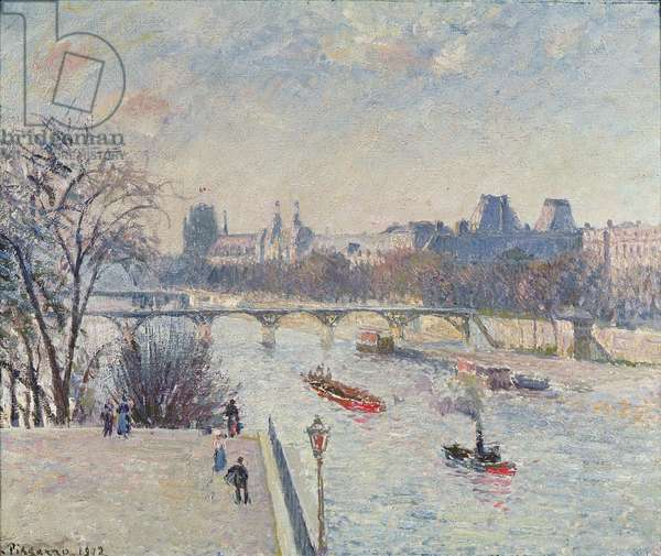 The Louvre, 1902 (oil on canvas)