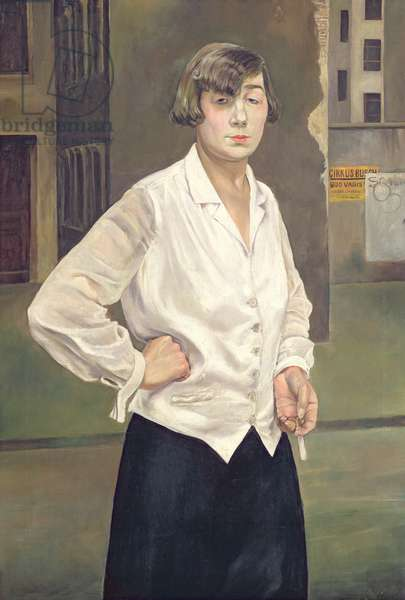 Portrait of Margot, 1924 (oil on canvas)