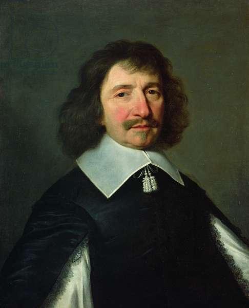 Portrait of Vincent Voiture (1597-1648) c.1643-44 (oil on canvas)