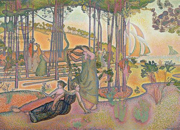 The Evening Air, 1893-4 (oil on canvas)