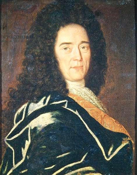 Portrait of Cheronnet, ceremonial driver to Louis XIV (1638-1715) (oil on canvas)