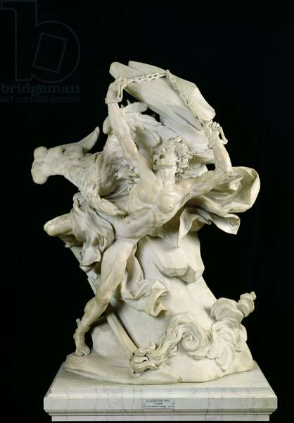 Prometheus in Chains (marble)