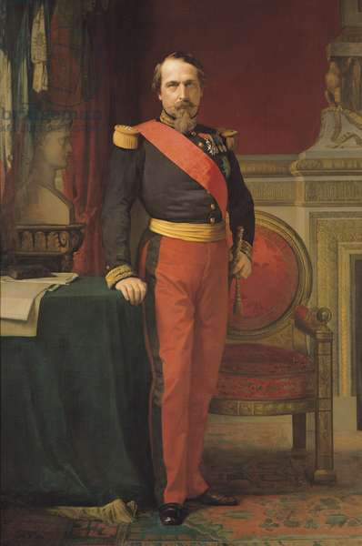 Portrait of Napoleon III (1808-73) 1862 (oil on canvas)