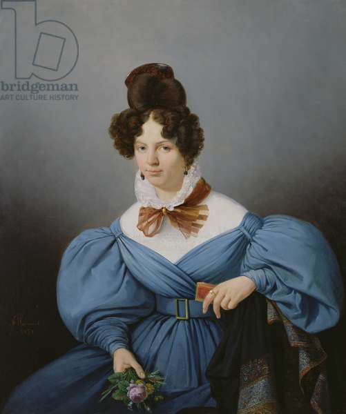 Portrait of a Lady, c.1830 (oil on canvas)