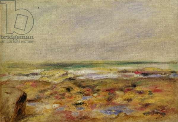 The Beach at Martigues, 1888 (oil on canvas)