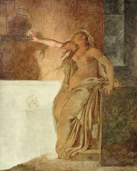 Sorrow (oil on canvas)