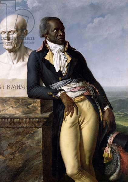 Portrait of Jean-Baptiste Belley (d.1804) Deputy of San Domingo, 1797 (oil on canvas)
