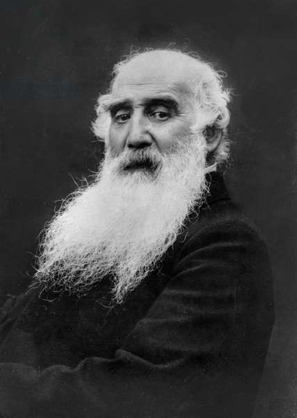 Camille Pissarro (b/w photo)
