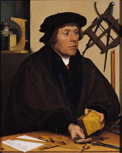 Portrait of Nicholas Kratzer (1487-c.1550) 1528 (oil on panel)