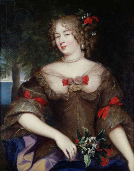 Francoise de Sevigne (1646-1705) Countess of Grignan (oil on canvas)