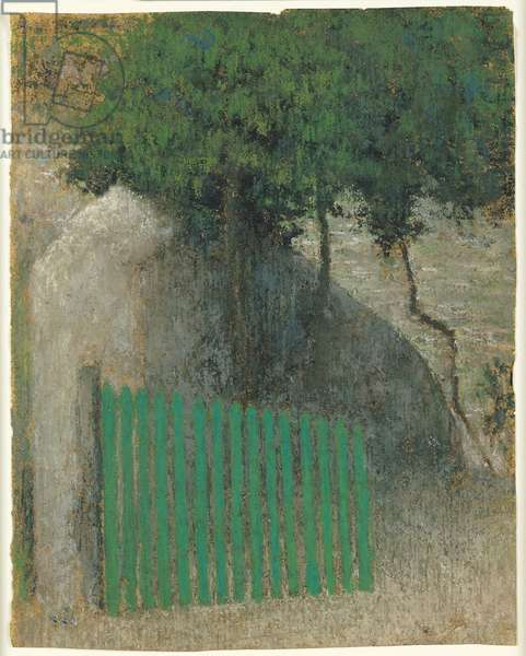 The Gate, c.1892 (pastel on paper)