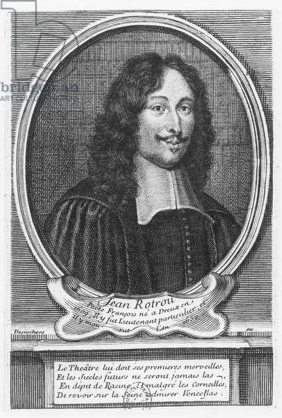 Portrait of Jean de Rotrou (engraving)