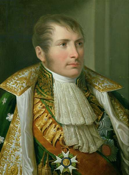 Portrait of Prince Eugene de Beauharnais (1781-1824) Viceroy of Italy and Duke of Leuchtenberg, 1810 (oil on canvas)