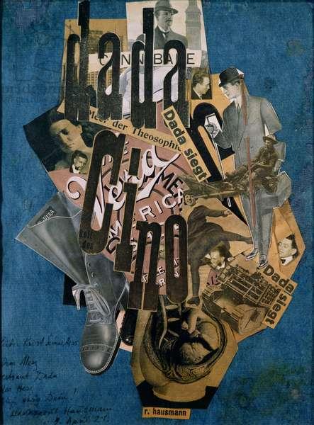 Dada-Cino, 1920 (collage)