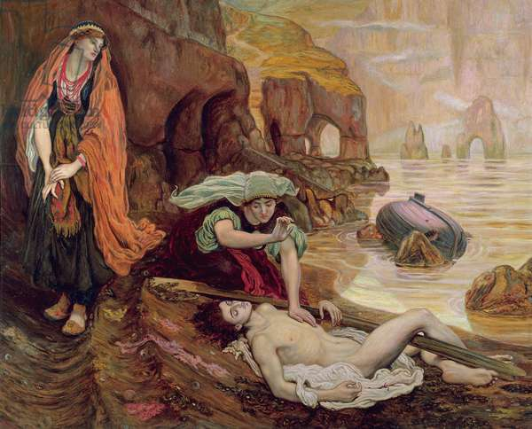The Finding of Don Juan by Haidee, 1878 (oil on canvas)