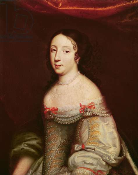 Portrait of Anne of Austria (1601-1666), Infanta of Spain, Queen consort of France and Navarre (1615-1643)