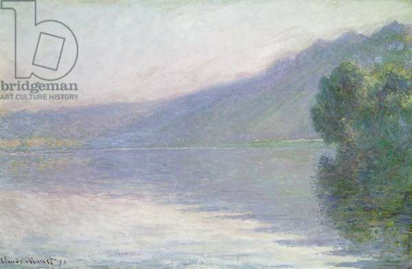 The Seine at Port-Villez, 1894 (oil on canvas)