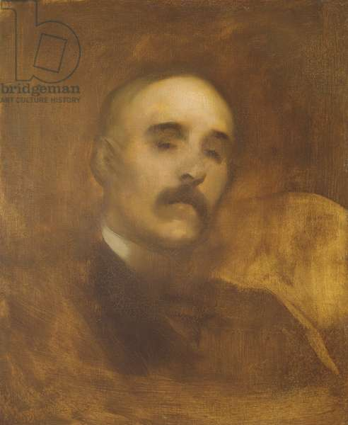 Georges Clemenceau (1841-1929) (oil on canvas)