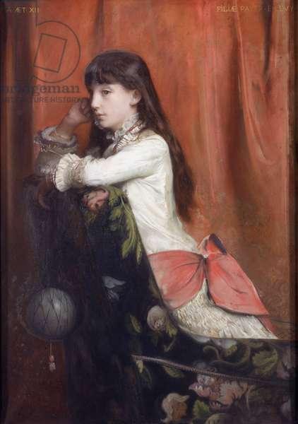 Mademoiselle Lia Levy, 1882 (oil on canvas)