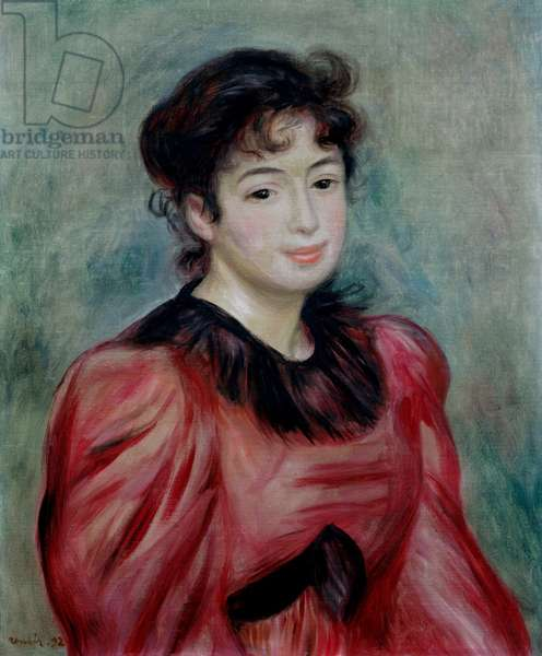 Portrait of Mademoiselle Victorine de Bellio (1863-1957) 1892 (oil on canvas)