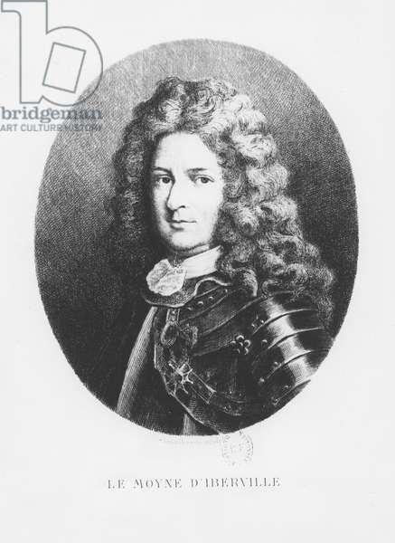 Pierre Le Moyne d'Iberville (engraving)