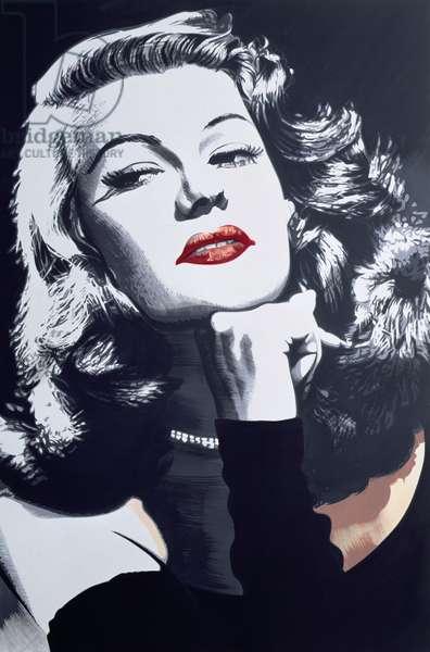 Gilda, 1989 (acrylic on canvas)