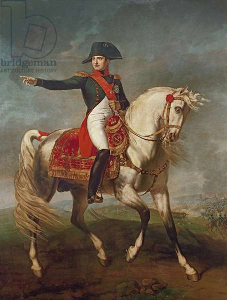 Equestrian Portrait of Napoleon I (1769-1821) 1810 (oil on canvas)