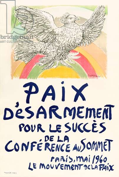Poster for the Peace Movement, May 1960 (litho)