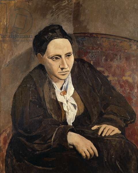 Portrait of Gertrude Stein, 1906 (oil on canvas)