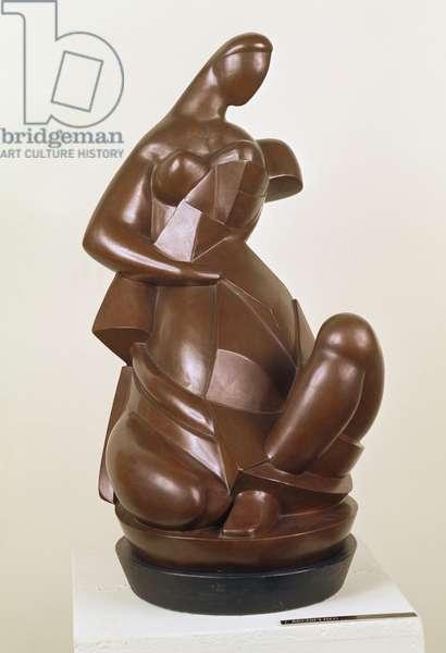 Draped Woman, 1911 (bronze)