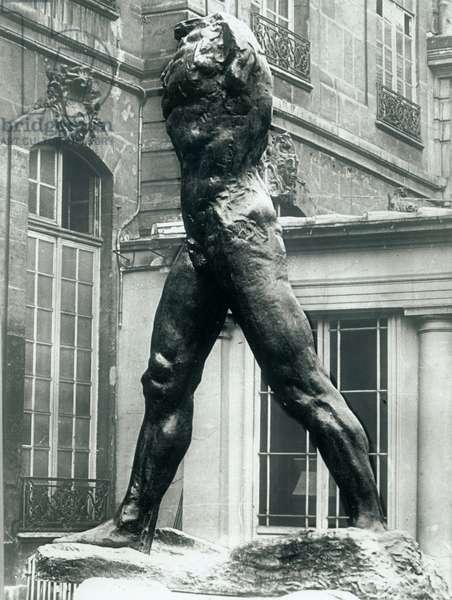 The Walking Man (bronze)