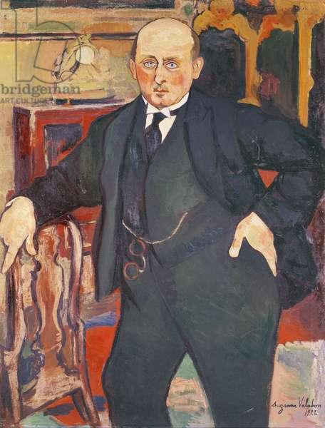 Portrait of Monsieur Mori, 1922 (oil on canvas)