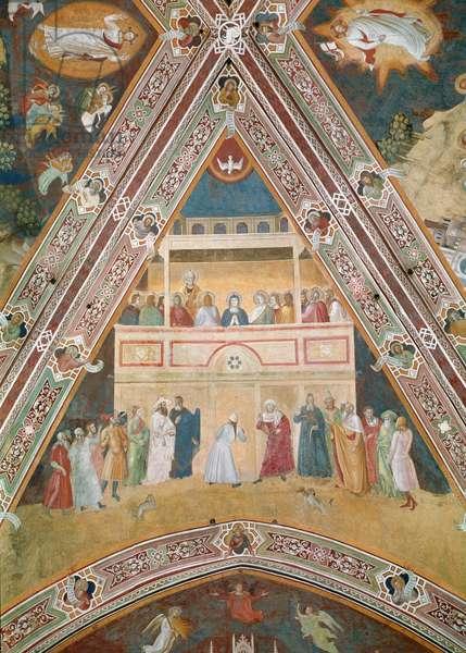 Pentecost, c.1366-68 (fresco)