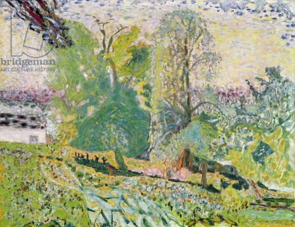 Normandy Landscape (oil on canvas)